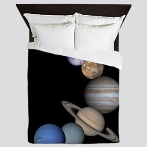 Planets Of Our Solar Systemqueen Duvet