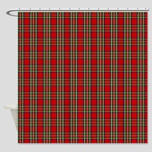 Stewart Scottish Tartan Shower Curtain
