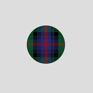 Sutherland Scottish Tartan Mini Button