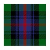 Clan sutherland tartan Tile Coasters
