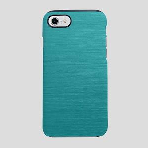 Brushed Teal iPhone 8/7 Tough Case