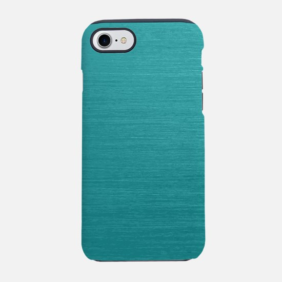 Brushed Teal iPhone 8/7 Tough Case