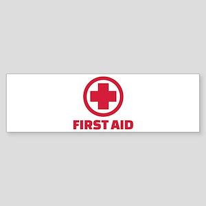 First aid Sticker (Bumper)