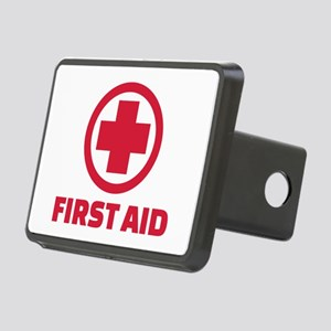 First aid Rectangular Hitch Cover