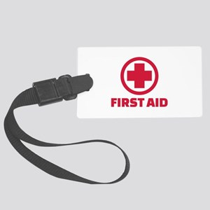 First aid Large Luggage Tag