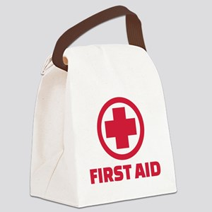 First aid Canvas Lunch Bag