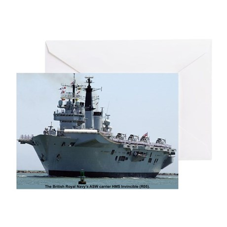 HMS Invincible Greeting Cards (Pk of 10)