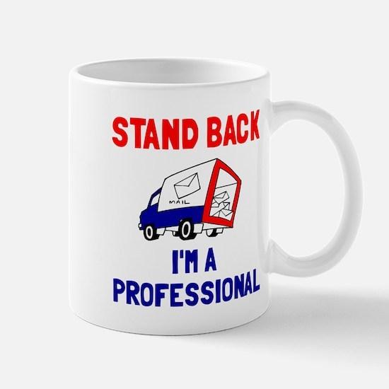 Stand Back Mail Carrier Mug