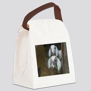 Dynamic Duo Canvas Lunch Bag