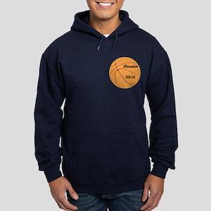 Personalized Basketball Hoodie (dark)