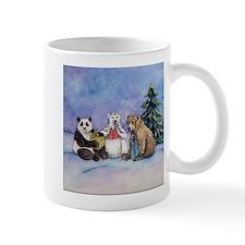 Holiday Bears Art Mugs