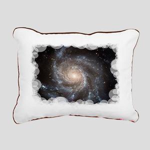 Pinwheel Galaxy M101 Rectangular Canvas Pillow