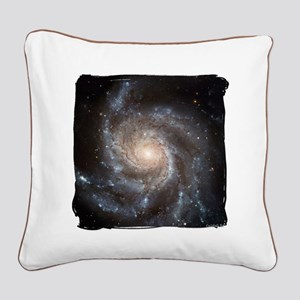 Pinwheel Galaxy M101 Square Canvas Pillow