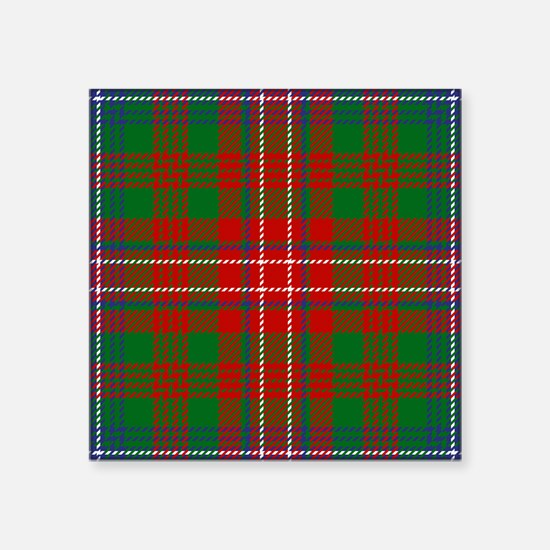 Wilson Scottish Tartan Sticker