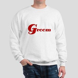 Red Groom Sweatshirt