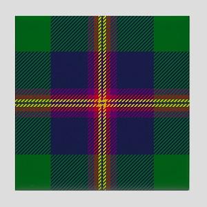 Young Scottish Tartan Tile Coaster