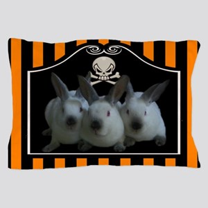 Mini Rex Halloween Pillow Case