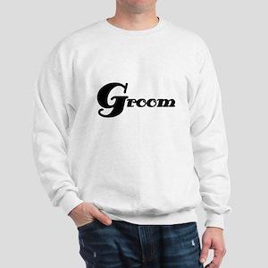 Black Groom Sweatshirt