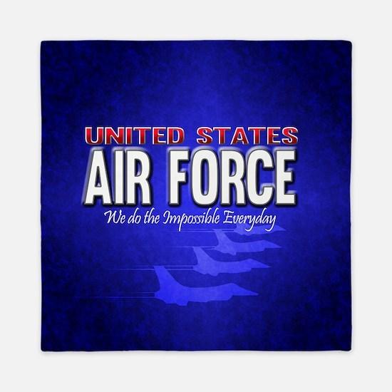 Air Force Queen Duvet