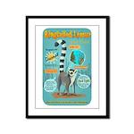 Ringtailed Lemur Framed Panel Print