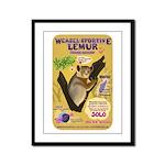 Weasel Sportive Lemur Framed Panel Print