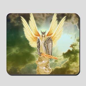 Holy Warrior Angel Mousepad