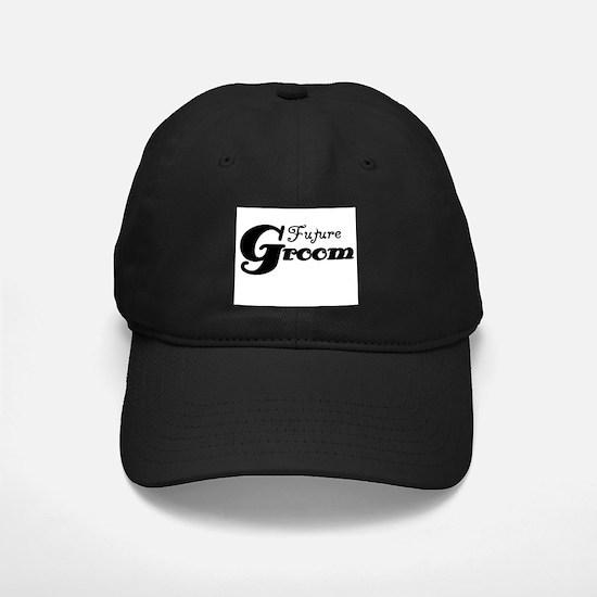 Future Groom Black Baseball Hat
