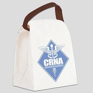 CRNA (b)(diamond) Canvas Lunch Bag