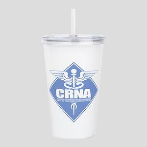 CRNA (b)(diamond) Acrylic Double-wall Tumbler