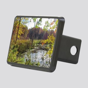 Lush Pond Scereny Rectangular Hitch Cover
