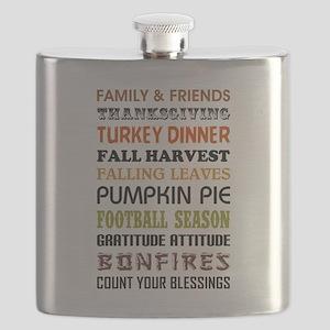 HAPPY THANKGIVING Flask