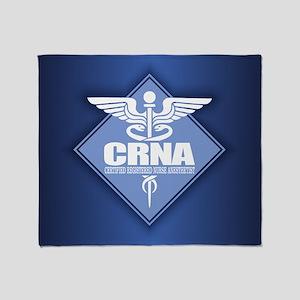 Crna (b)(diamond) Throw Blanket