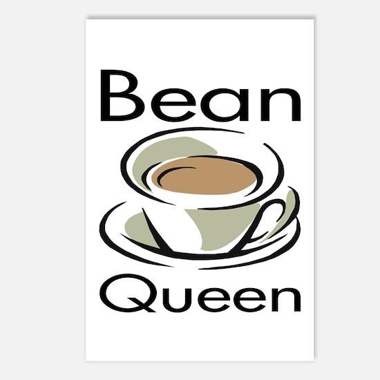 Bean Queen Postcards (Package of 8)