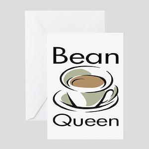 Bean Queen Greeting Card