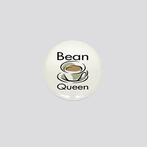 Bean Queen Mini Button