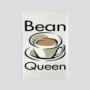 Bean Queen Rectangle Magnet