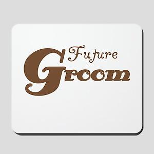 Future Groom Brown Mousepad