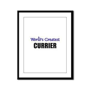 Worlds Greatest CURRIER Framed Panel Print