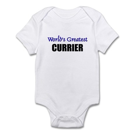 Worlds Greatest CURRIER Infant Bodysuit