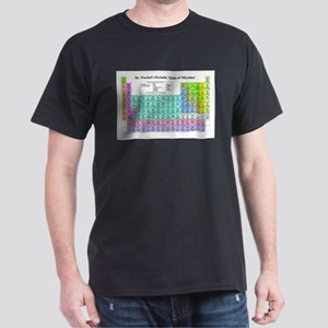 Dr Warhol's Periodic Table of Microbes T-Shirt