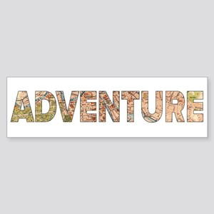 Adventure Bumper Sticker