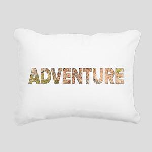 Adventure Rectangular Canvas Pillow