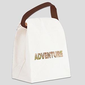 Adventure Canvas Lunch Bag
