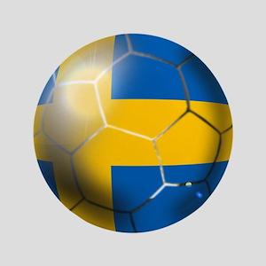 Sweden Soccer Ball Button