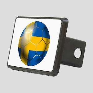 Sweden Soccer Ball Rectangular Hitch Cover