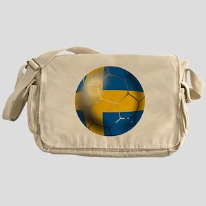 Sweden Soccer Ball Messenger Bag