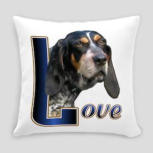 Love Bluetick Coonhound Everyday Pillow