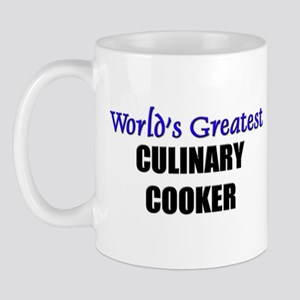 Worlds Greatest CULINARY COOKER Mug