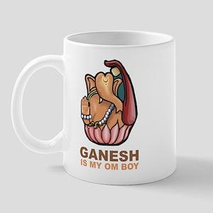 Ganesh Is My Om Boy Mug