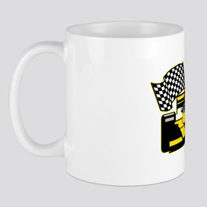 YELLOW RACECAR 11 oz Ceramic Mug